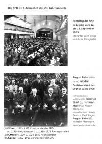 Die SPD im 1.Jahrzehnt des 20.Jahrhunderts (1909)