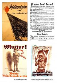 SPD-Wahlplakate von 1919
