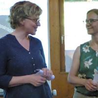 Natascha Kohnen stellt Anette Kitzmann-Waterloo als Bürgermeisterkandidatin vor