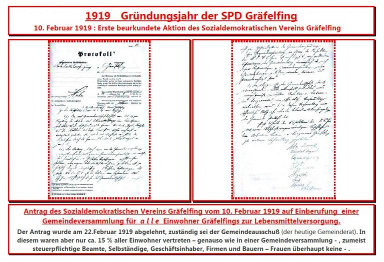 100 Jahre SPD Gräfelfing